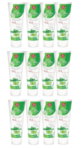 aloe vera gel corpsbio tube 250ml: 1 carton de 12 tubes de 250 ml