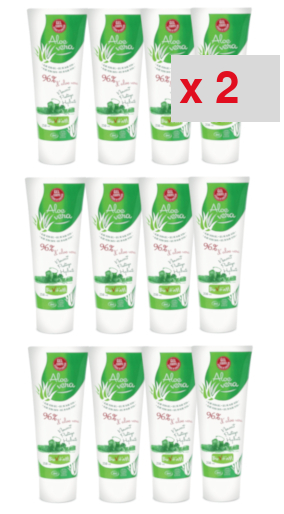 aloe vera gel corpsbio tube 250ml: 2 cartons de 12 tubes de 250 ml