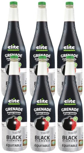 grenade black diamond: 1 carton de 6 bouteilles de 1 litre