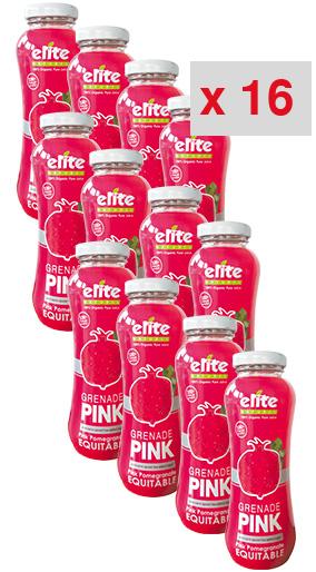 grenade pink 200 ml: 16 cartons de 12 bouteilles de 200 ml