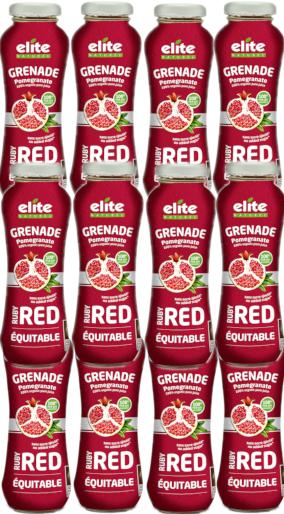 grenade ruby red 200 ml: 1 carton de 12 bouteilles de 200 ml