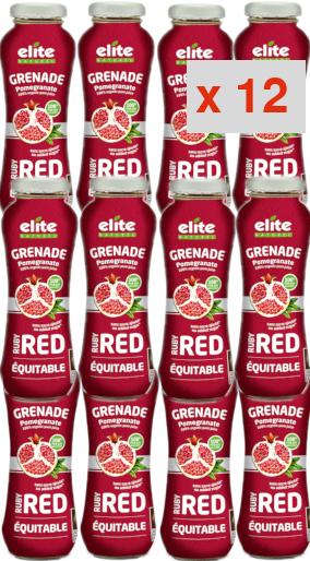 grenade ruby red 200 ml: 12 cartons de 12 bouteilles de 200 ml